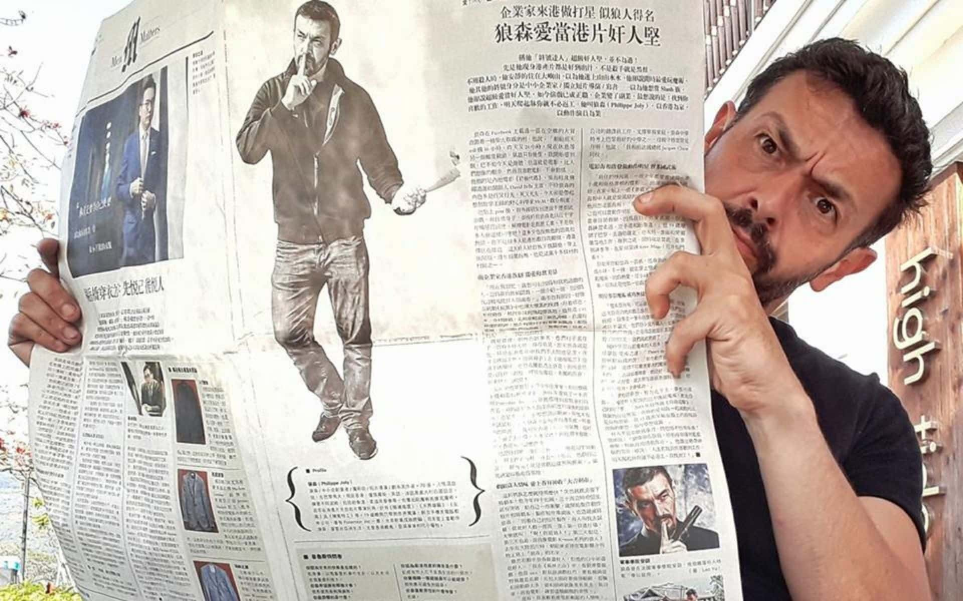 Philippe Joly - Interview in Mingpao Newspaper (Hong Kong)