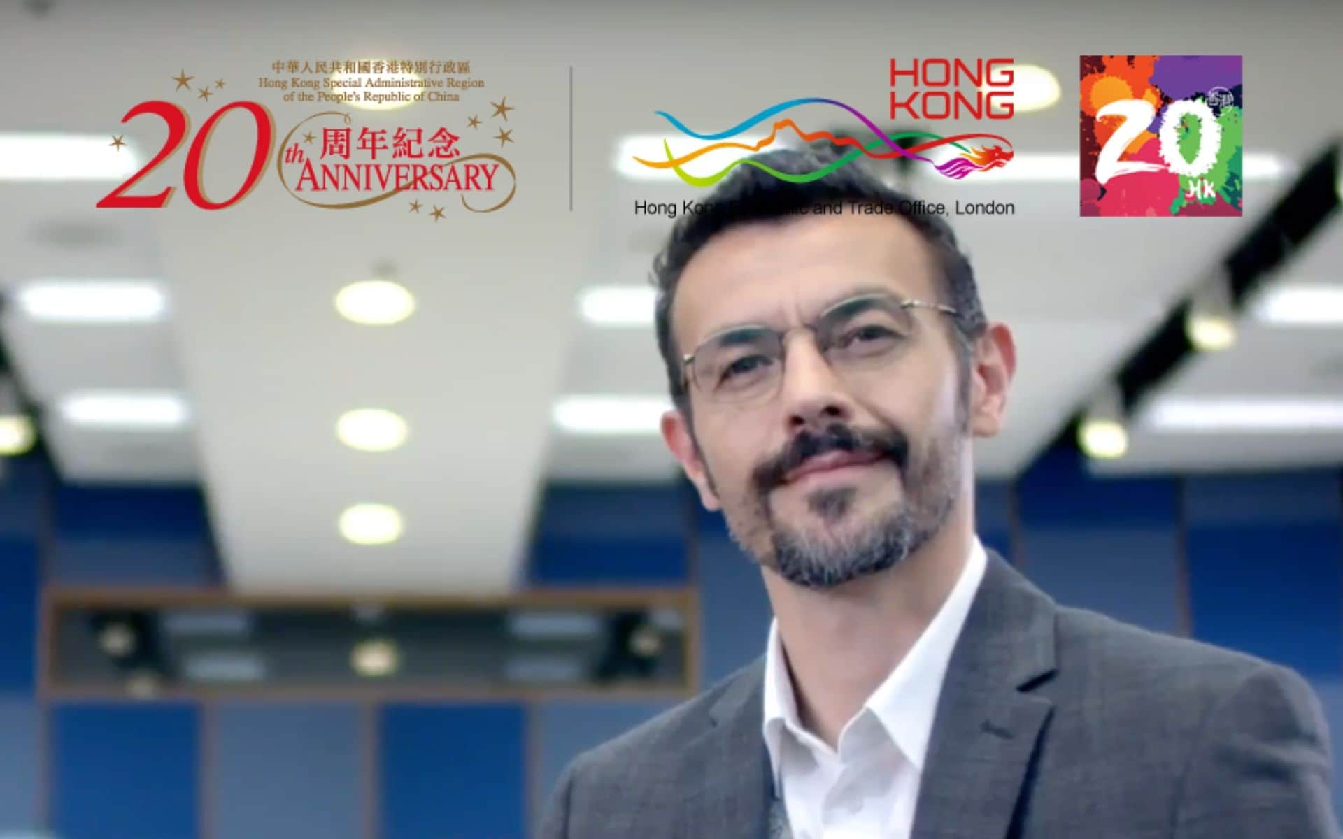 Philippe Joly - HK SAR 20th Anniversary TV Commercial